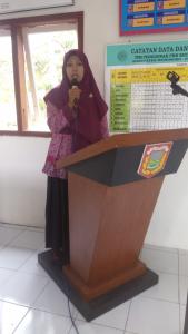 Lomba Pidato Ketua TP PKK Desa Se-Kecamatan Kalibawang